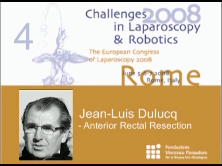 CILR 2008 – Jean-Louis Dulucq – Anterior rectal resection