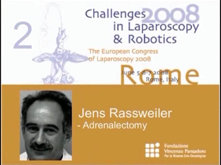 CILR 2008 – Jens Rassweiler – Adrenalectomy