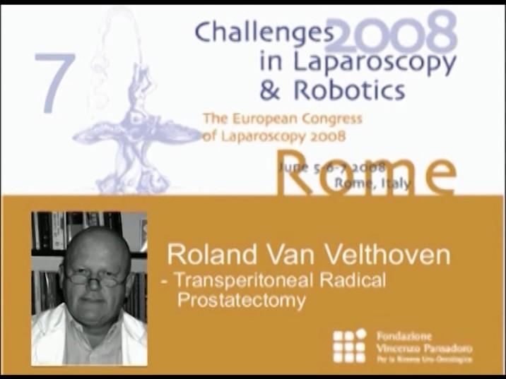 CILR 2008 – Roland Van Velthoven – Transperitoneal radical prostatectomy